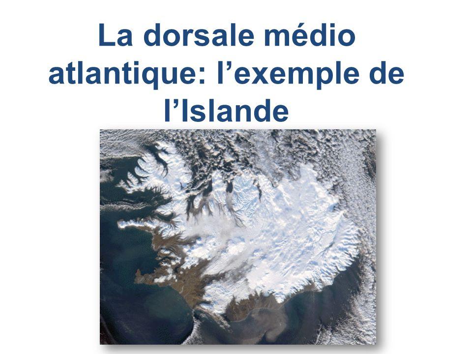 GEOGRAPHIE ISLANDE LIslande est une île émergée de la dorsale médio atlantique.