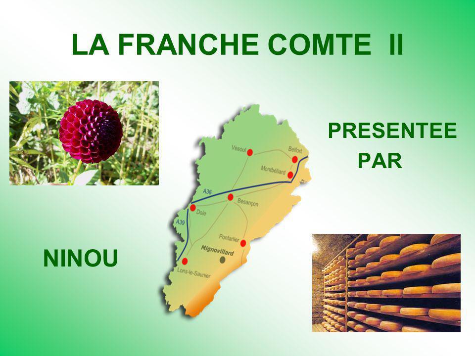 LA FRANCHE COMTE ll PRESENTEE PAR NINOU