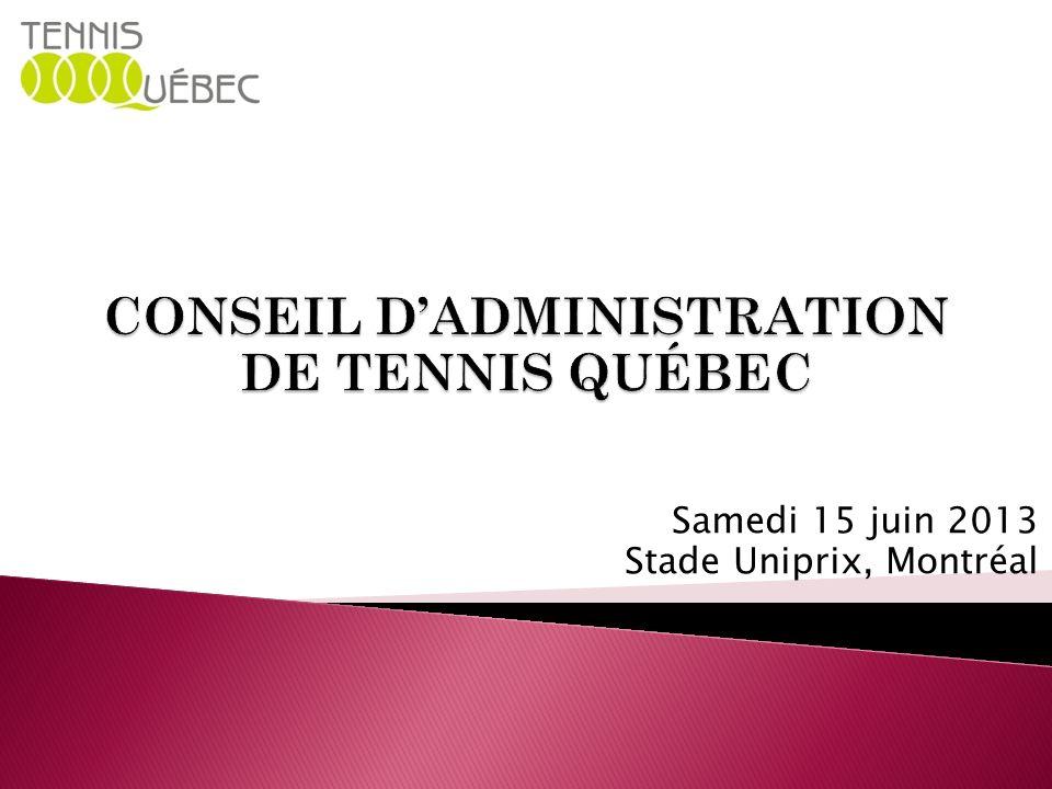 Samedi 15 juin 2013 Stade Uniprix, Montréal
