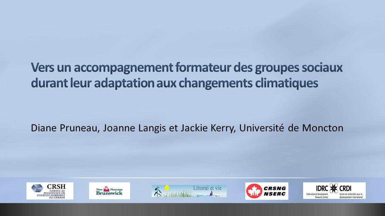 Diane Pruneau, Joanne Langis et Jackie Kerry, Université de Moncton