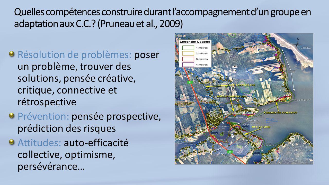 Quelles compétences construire durant laccompagnement dun groupe en adaptation aux C.C..