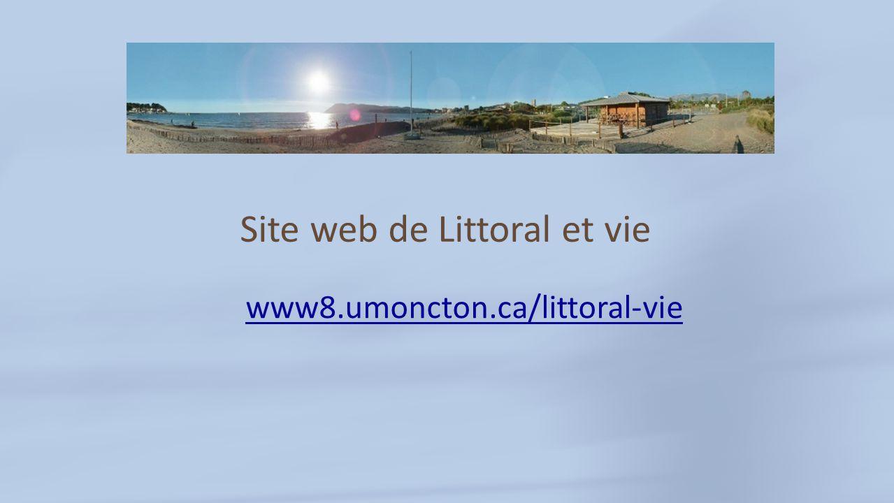Site web de Littoral et vie www8.umoncton.ca/littoral-vie