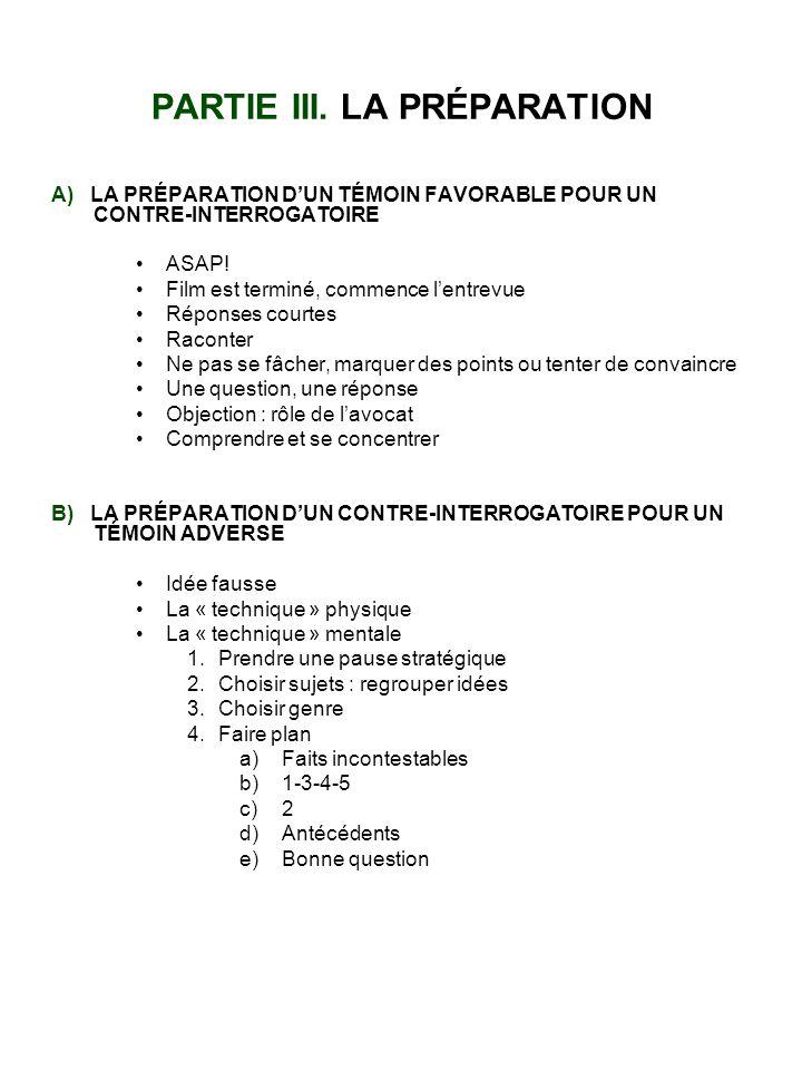 PARTIE IV.LA RECHERCHE DE LA VÉRITÉ A) C.Q.N.R.