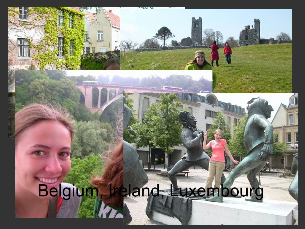 Belgium, Ireland, Luxembourg