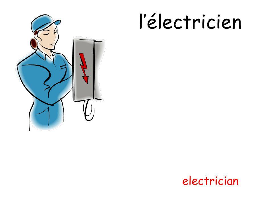 lélectricien electrician