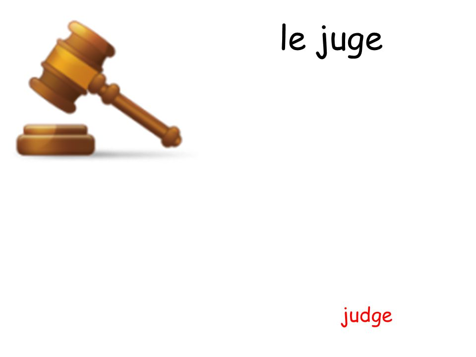 le juge judge