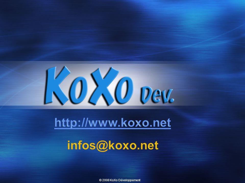 © 2008 KoXo Développement