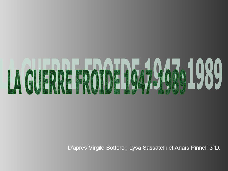 Daprès Virgile Bottero ; Lysa Sassatelli et Anaïs Pinnell 3°D.