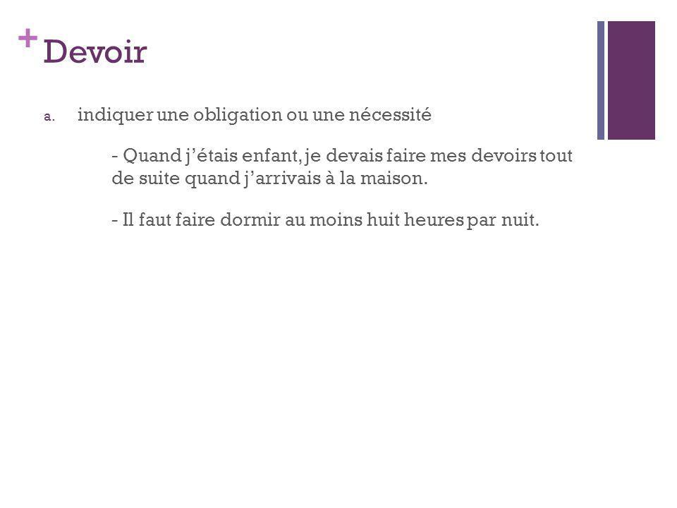 + Devoir b.