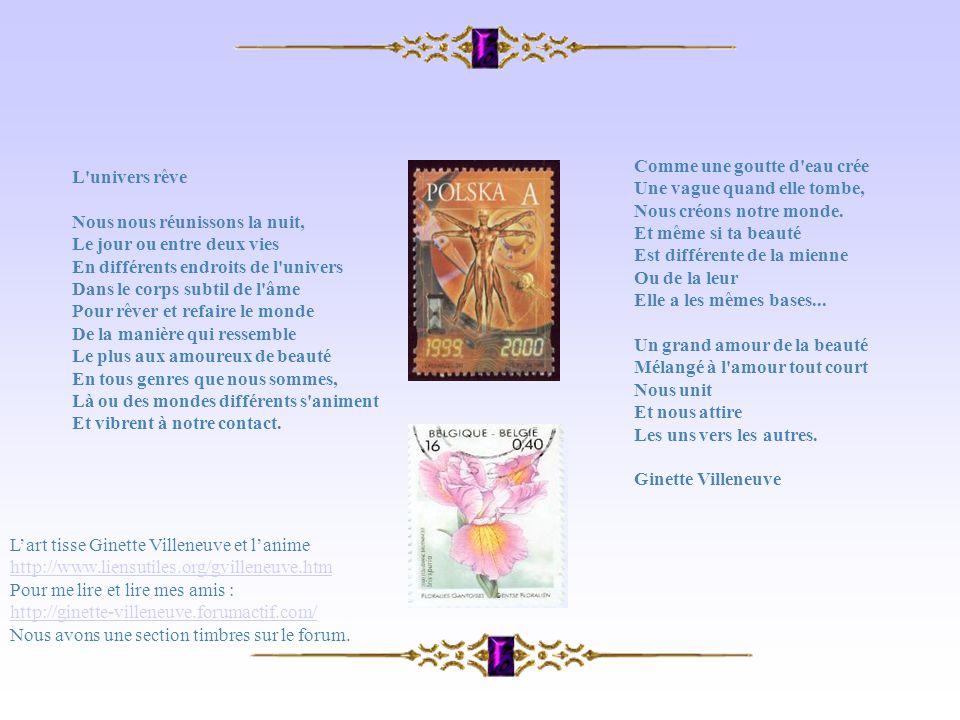 Pour me lire et lire mes amis : http://ginette-villeneuve.forumactif.com/