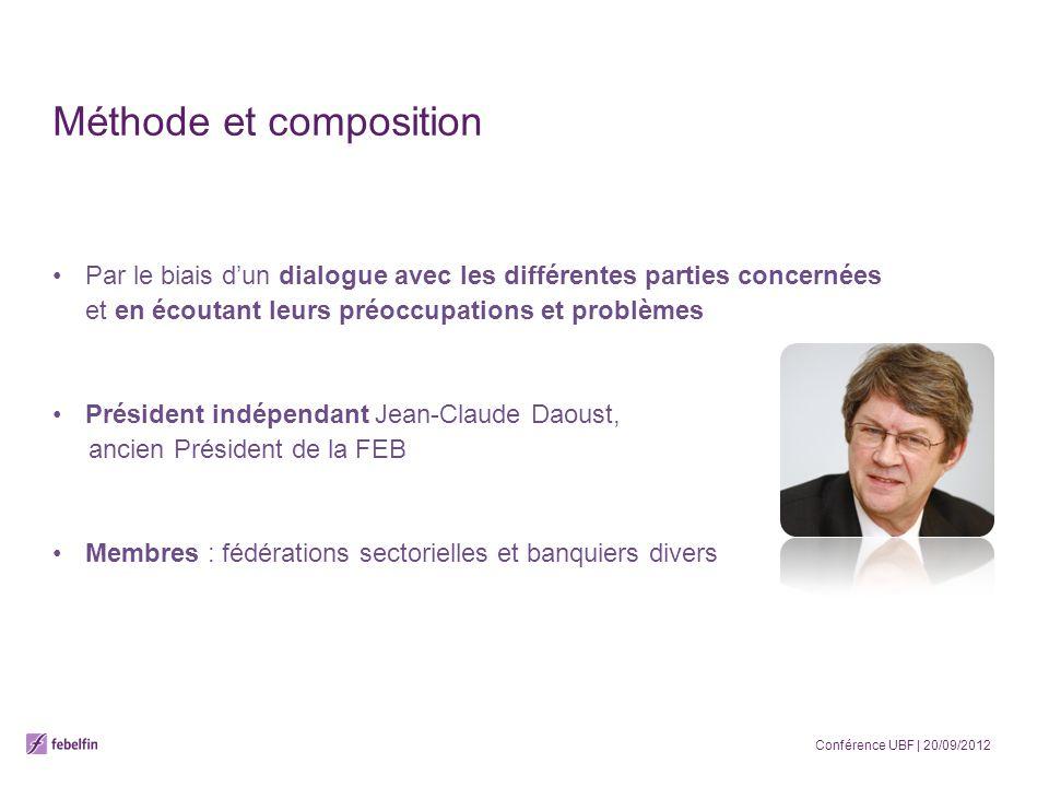 Méthode et composition Par le biais dun dialogue avec les différentes parties concernées et en écoutant leurs préoccupations et problèmes Président in
