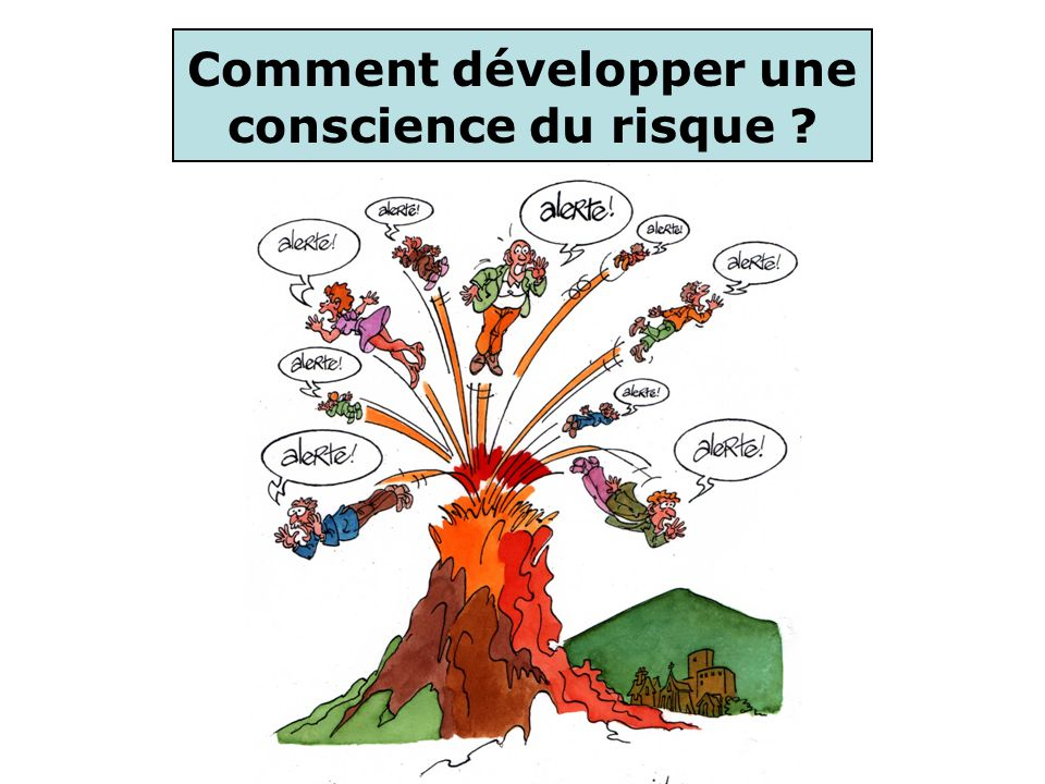 De nombreux textes soulignent limportance dune éducation aux risques en milieu scolaire Comment développer une conscience du risque .