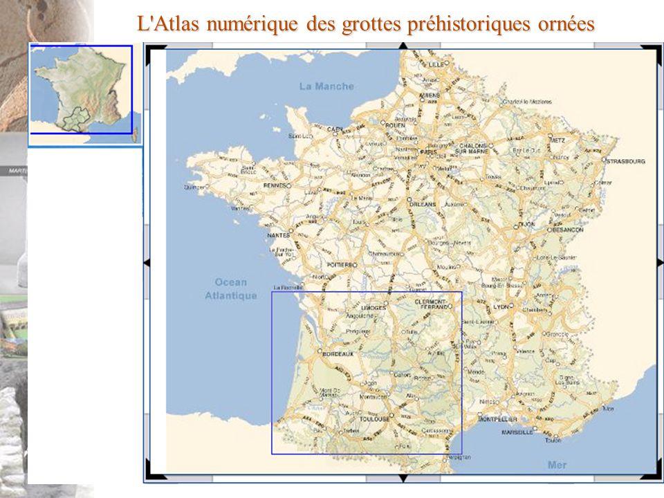 L'Atlas numérique des grottes préhistoriques ornées
