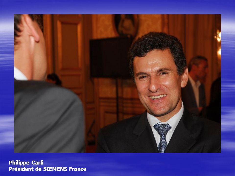 Philippe Carli Président de SIEMENS France