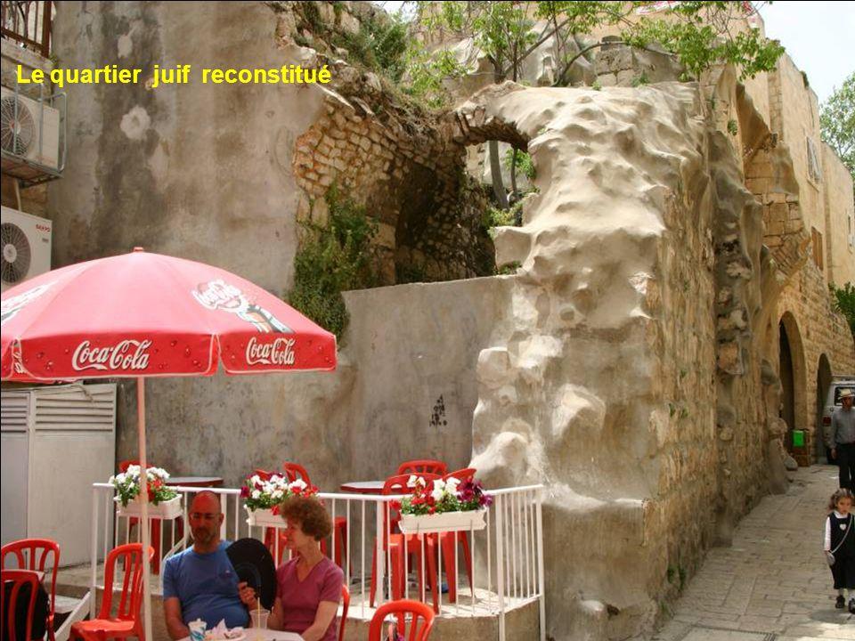 Le quartier juif reconstitué