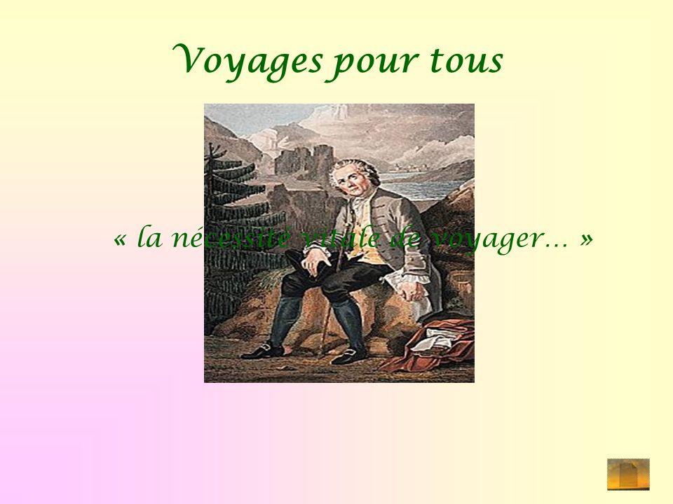 Voyages pour tous « la nécessité vitale de voyager… »