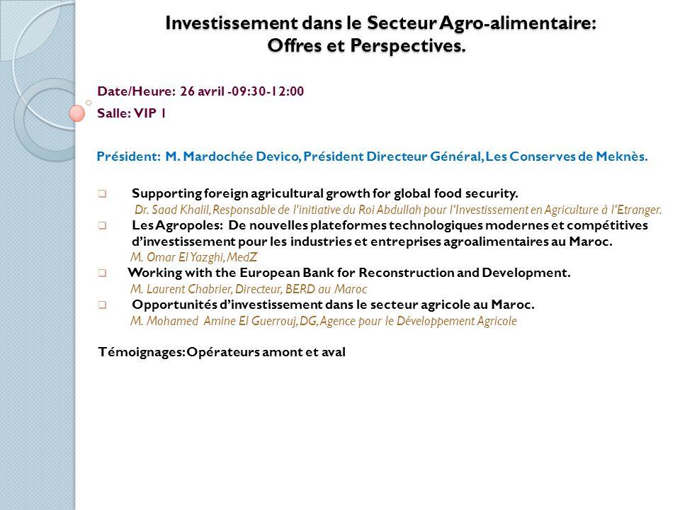 Le Marché du Travail et la Formation aux Métiers de lAgriculture.