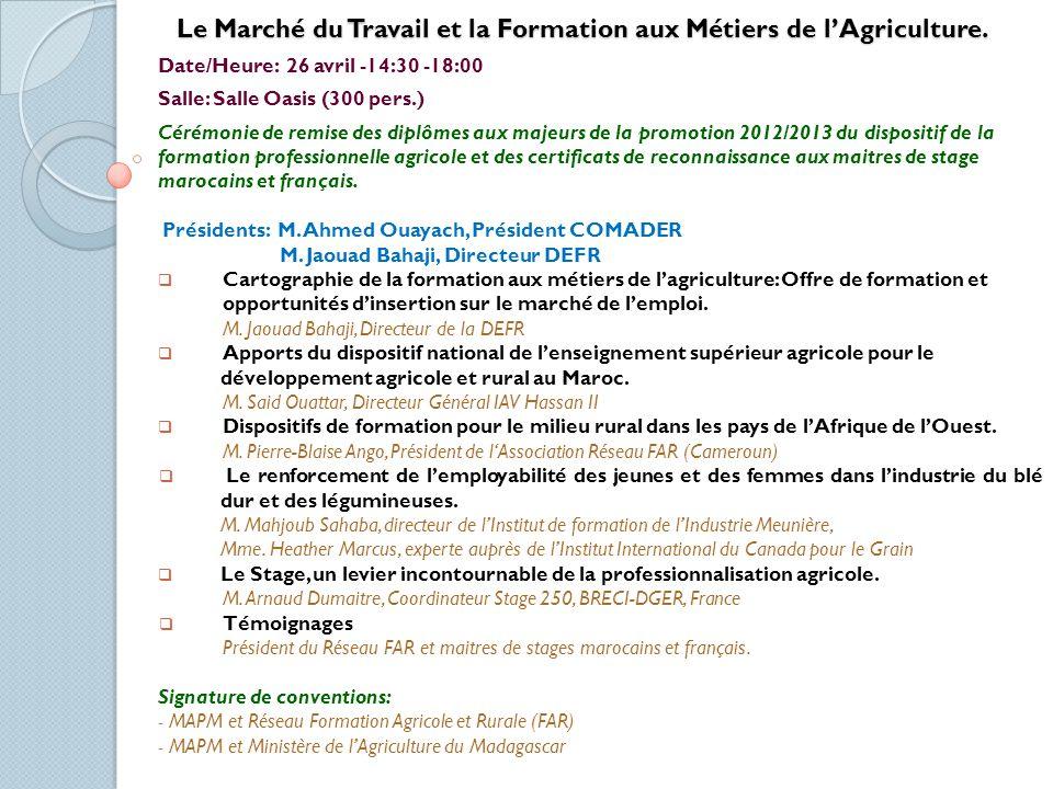Les Groupements dIntérêt Economique (GIE): Cas de Modèles Initiés dans le Plan Maroc Vert.