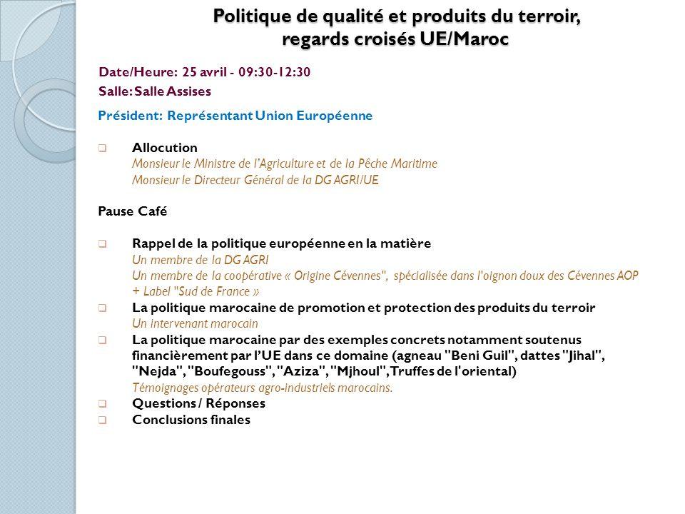 La Petite Agriculture La Petite Agriculture dans les Régions Arides: Intensification et Durabilité Date/Heure: 25 avril -14:30-18:00.