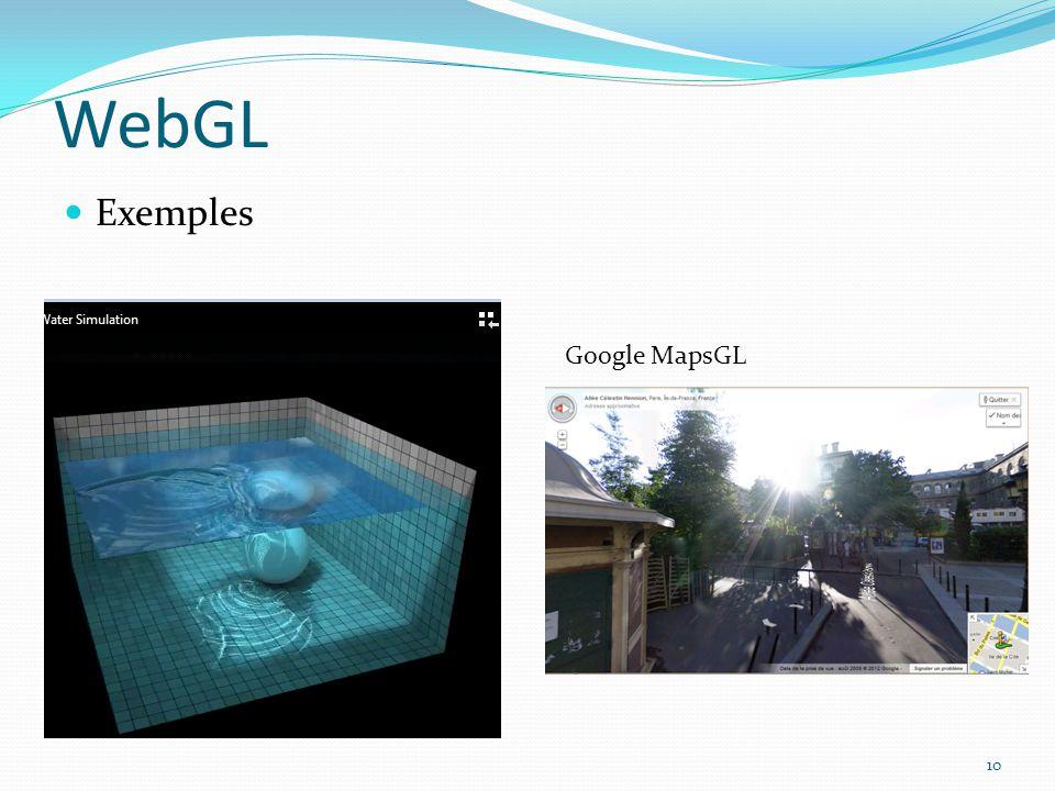 WebGL Exemples 10 Google MapsGL