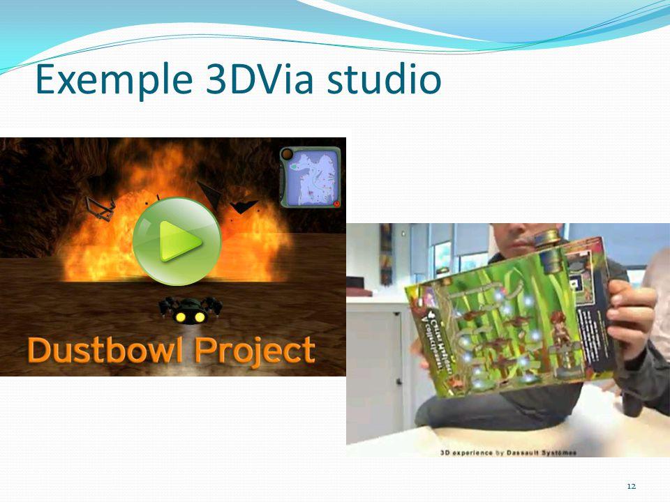 Exemple 3DVia studio 12