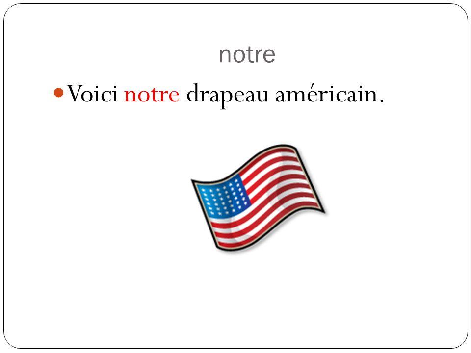 Their Voila leur professeur.Leur + a singular noun (masculine or feminine) Voila leurs stylos.