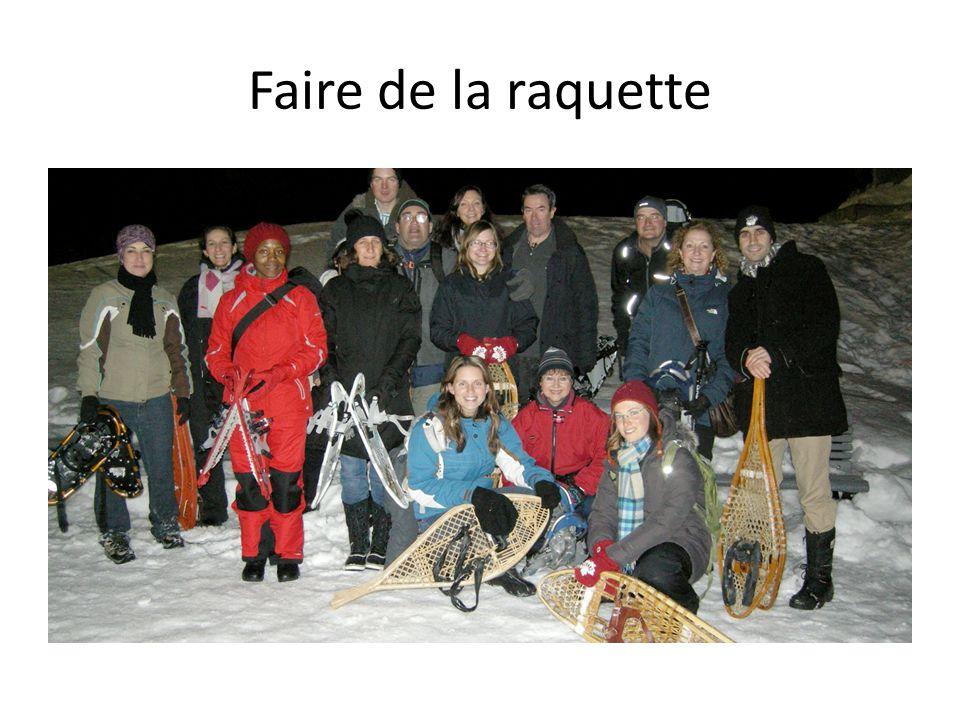 Faire de la pêche sur glace