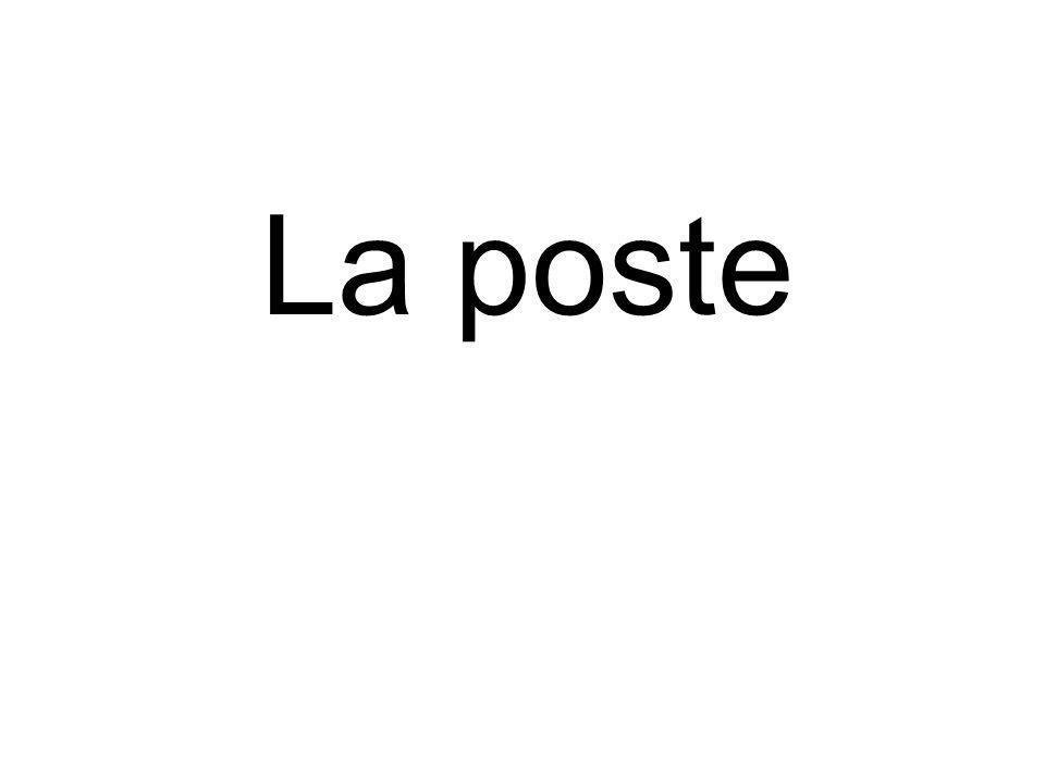 La poste