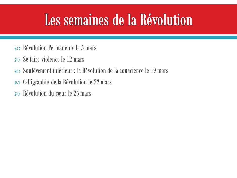 Commencez la Révolution En vous-mêmes Votre visage ici