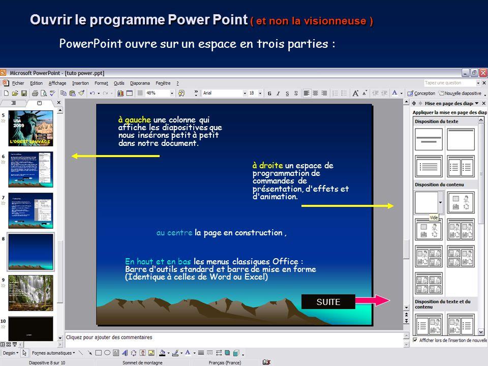 TUTO POWER POINT Parole décole décembre 2010 Power Point est un programme qui est souvent utilisé pour créer des documents animés ou des diaporamas. N