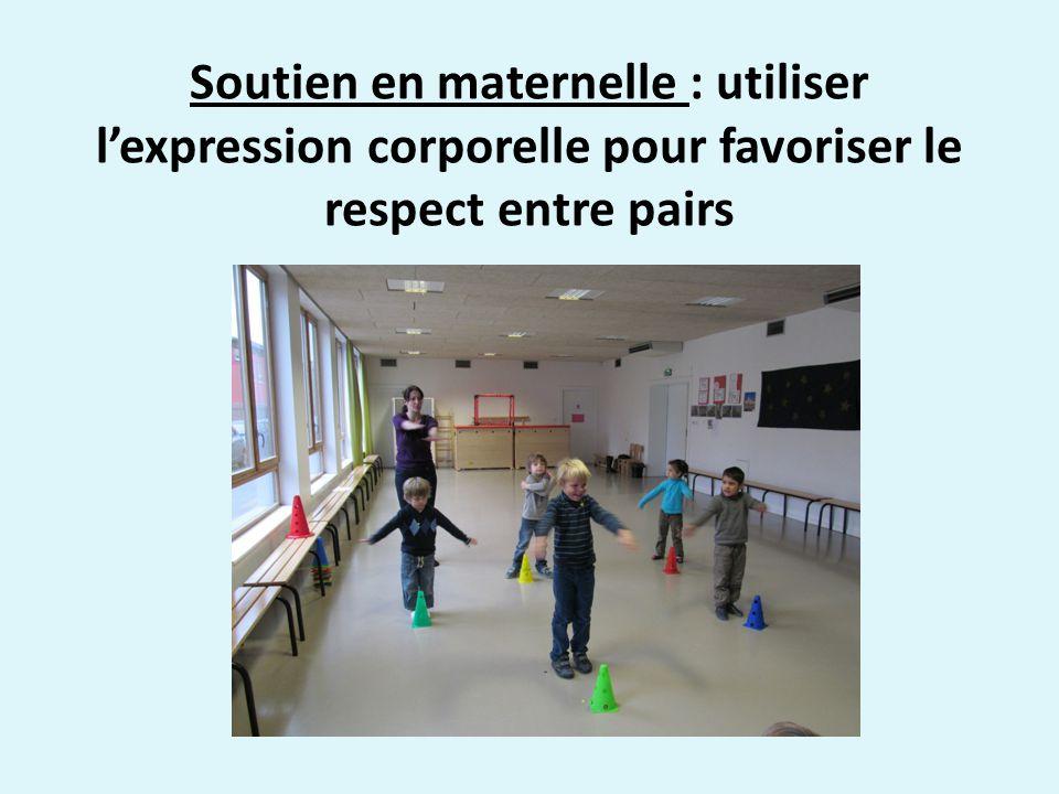 Soutien en maternelle : utiliser lexpression corporelle pour favoriser le respect entre pairs