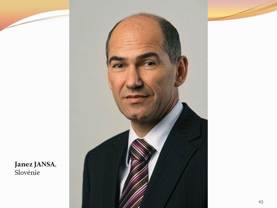 Janez JANSA, Slovénie 43
