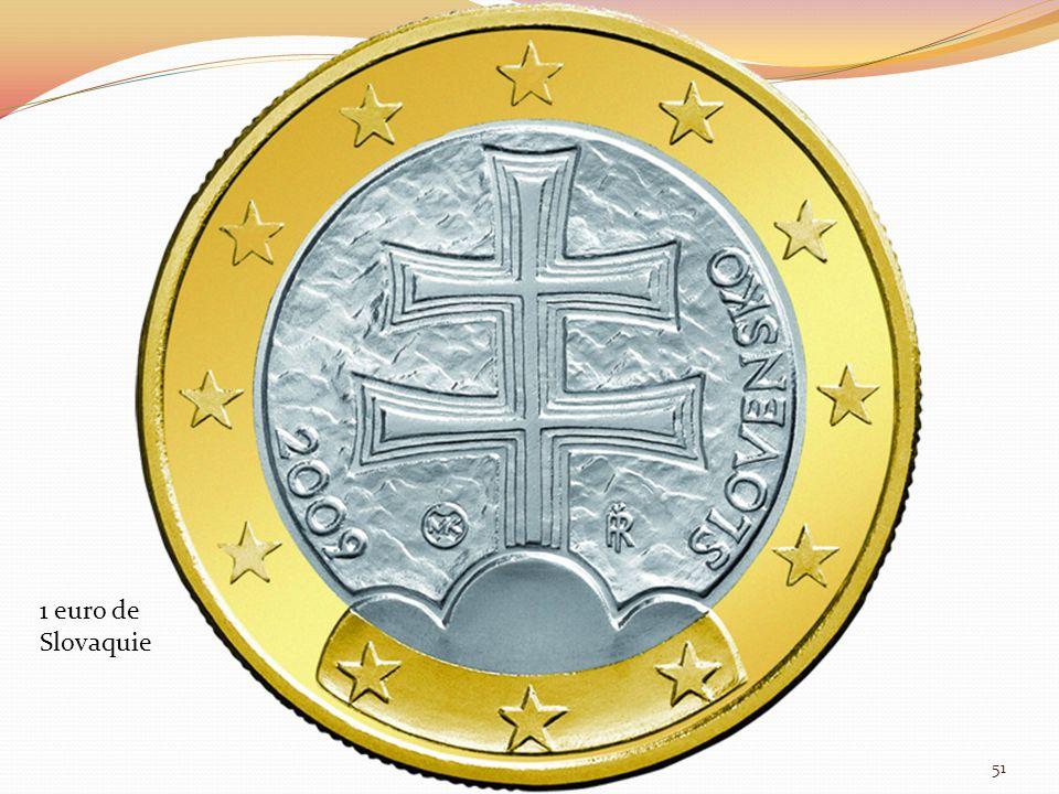 1 euro de Slovaquie 51