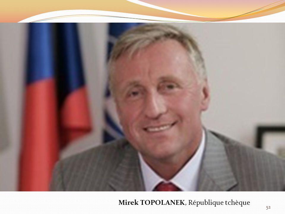 Mirek TOPOLANEK, République tchèque 52