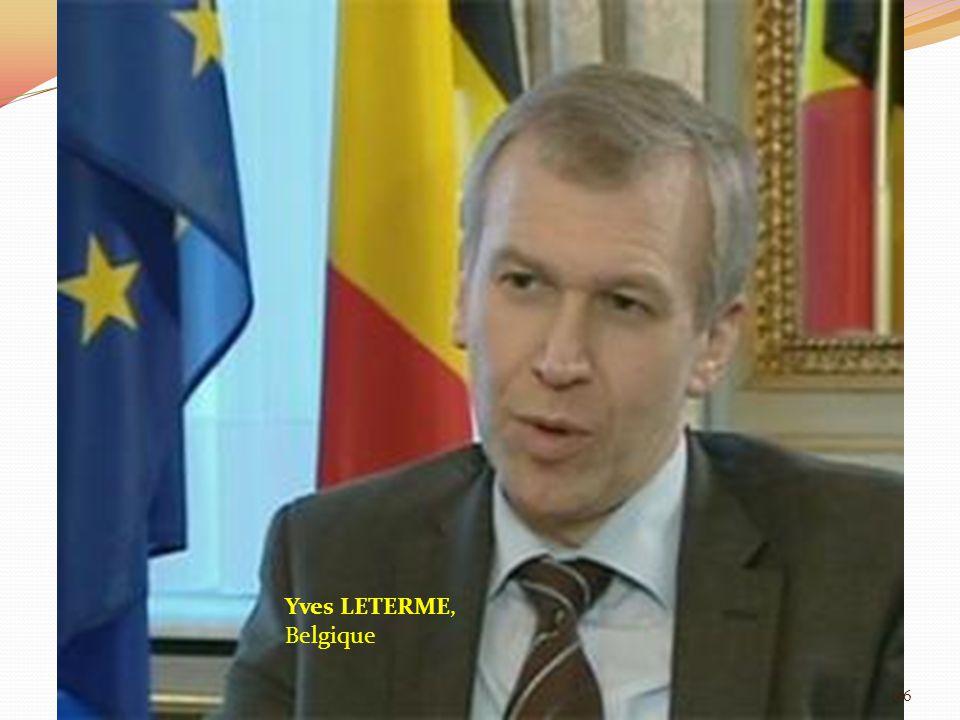 Yves LETERME, Belgique 66