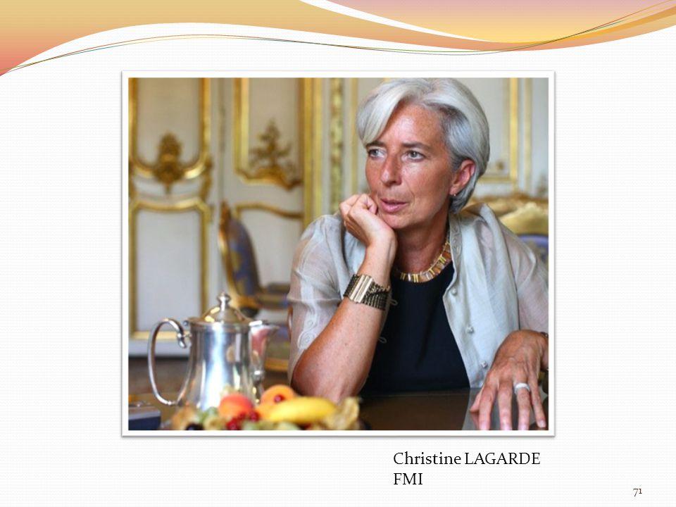 ORBAN Viktor Hongrie 71 Christine LAGARDE FMI