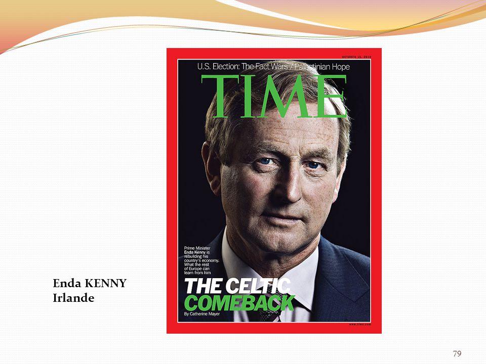 79 Enda KENNY Irlande