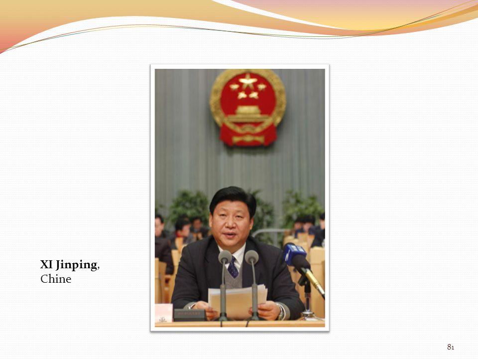 XI Jinping, Chine 81