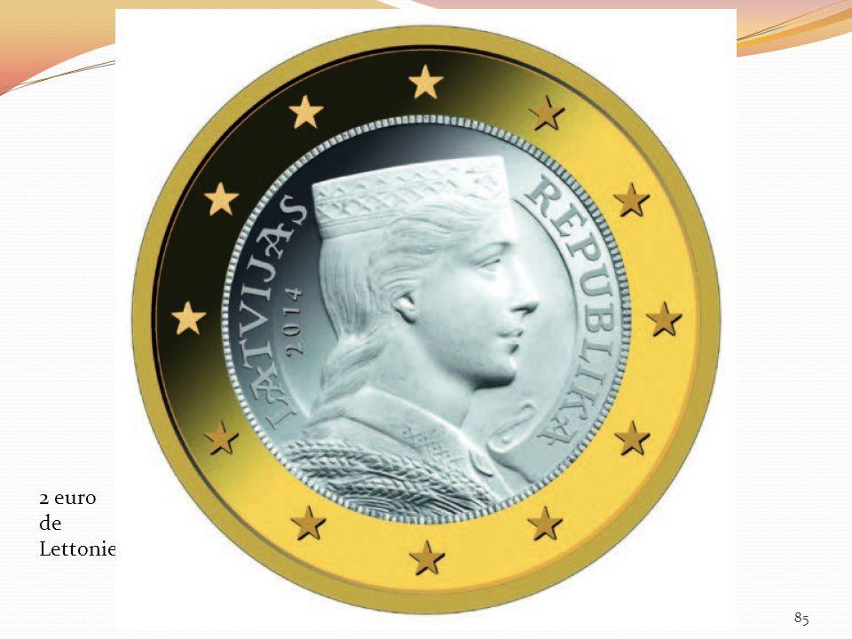 2 euro de Lettonie 85
