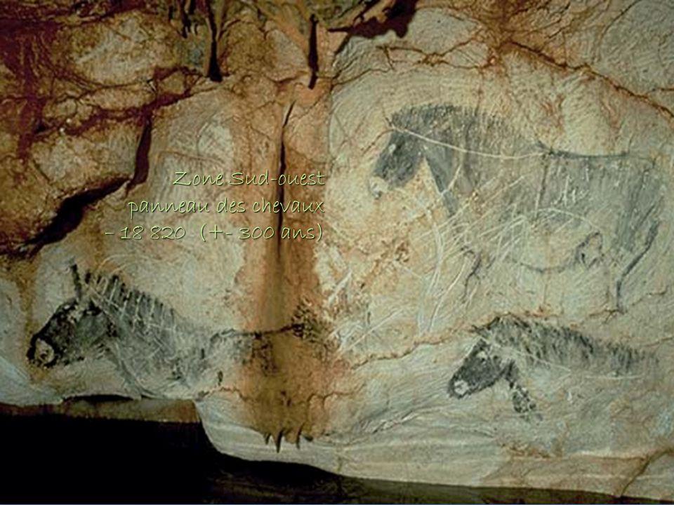 Zone Sud-ouest Zone Sud-ouest panneau des chevaux – 18 820 (+- 300 ans)