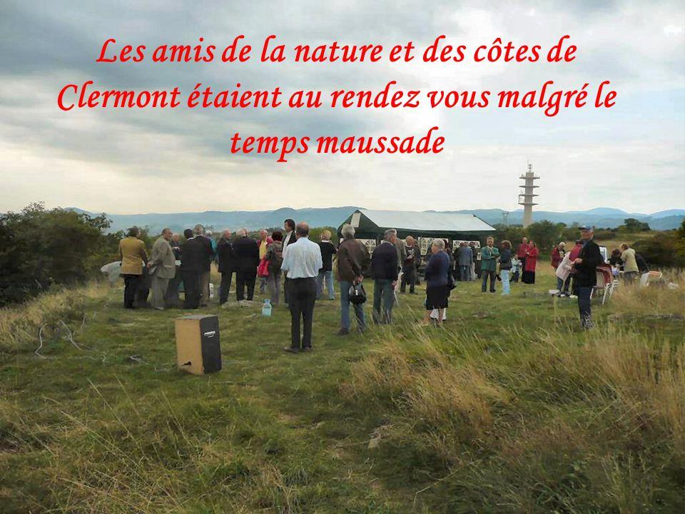 Les amis de la nature et des côtes de Clermont étaient au rendez vous malgré le temps maussade