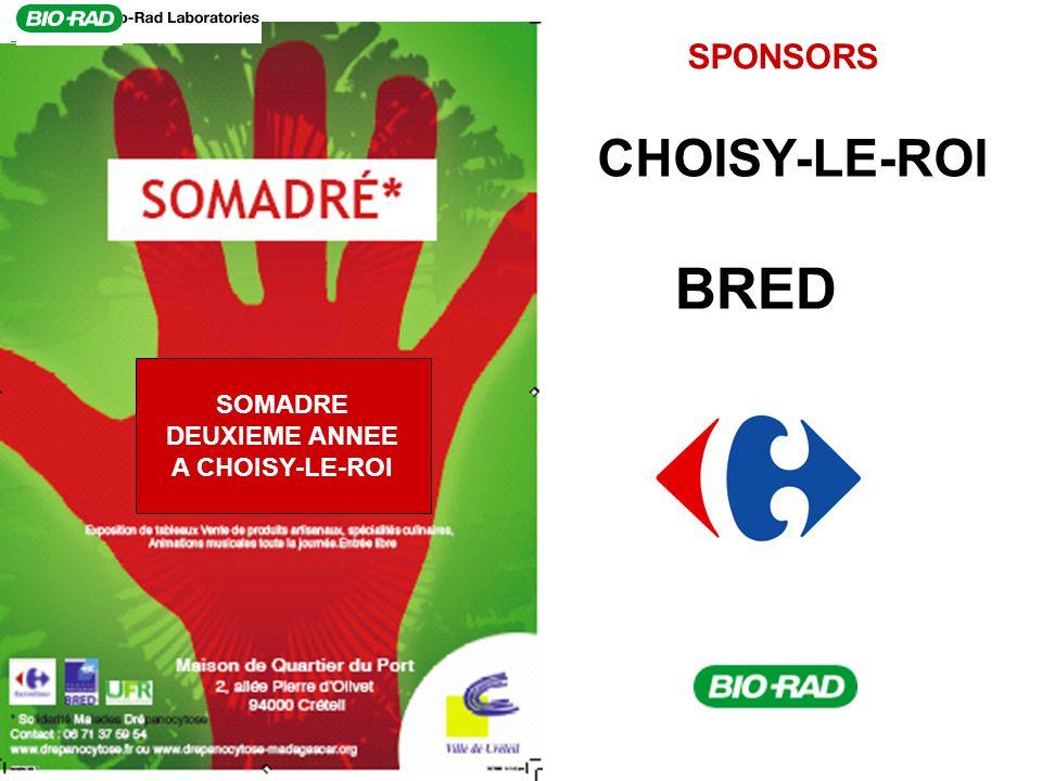 SPONSORS BRED SOMADRE DEUXIEME ANNEE A CHOISY-LE-ROI CHOISY-LE-ROI