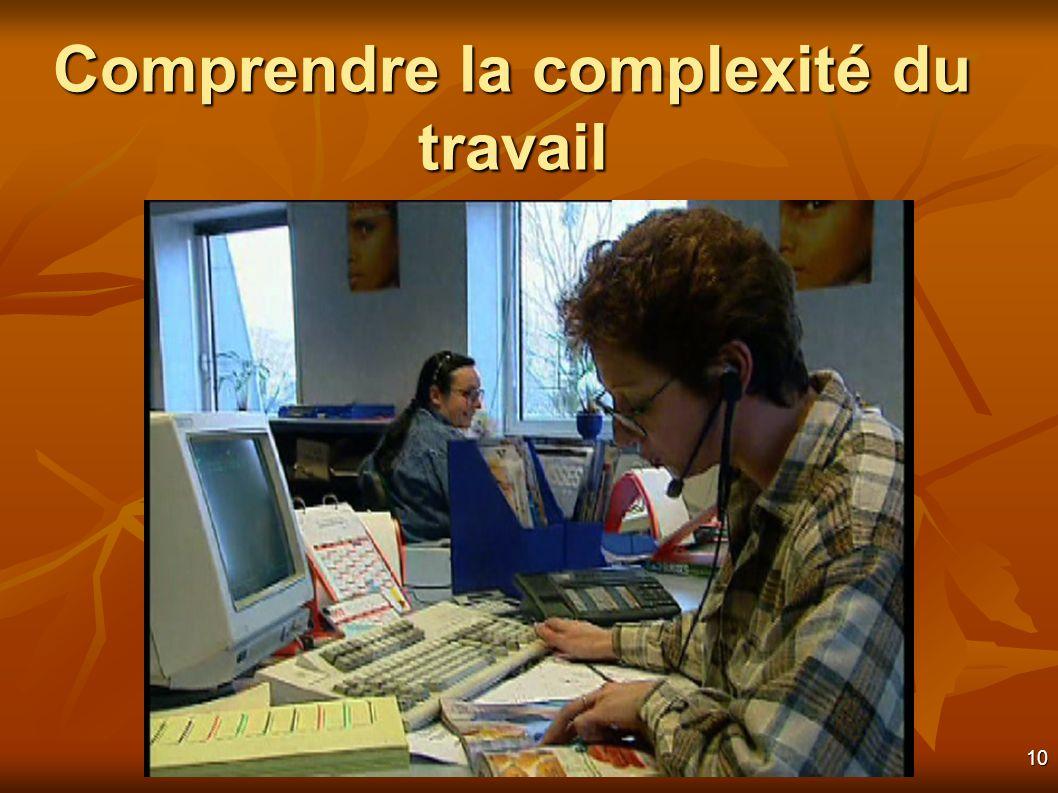 10 Comprendre la complexité du travail