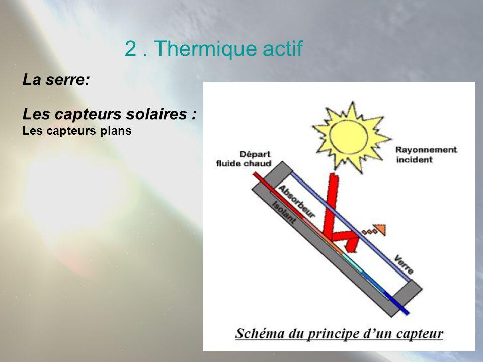 3.Les systèmes : sol/eau Avantages -Permet de régler le chauffage pièce par pièce.
