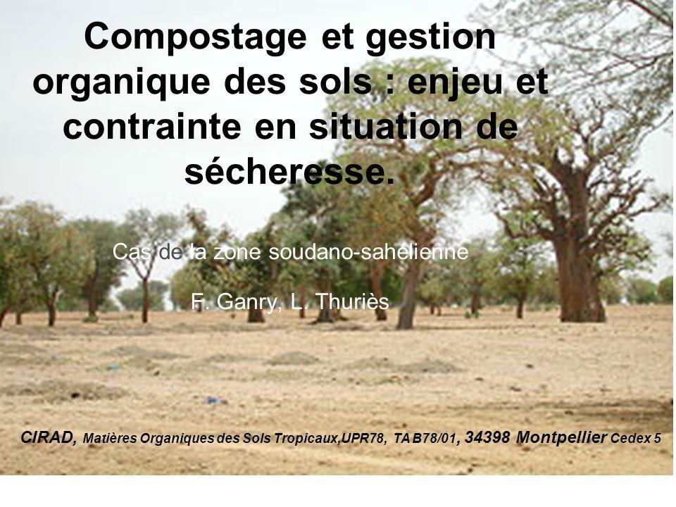 2 Gestion organique par gestion organique des sols en situation de sécheresse .