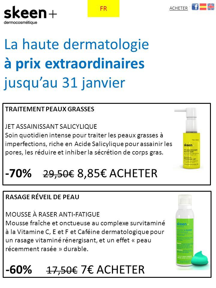 RASAGE RÉVEIL DE PEAU MOUSSE À RASER ANTI-FATIGUE Mousse fraîche et onctueuse au complexe survitaminé à la Vitamine C, E et F et Caféine dermatologique pour un rasage vitaminé rénergisant, et un effet « peau récemment rasée » durable.