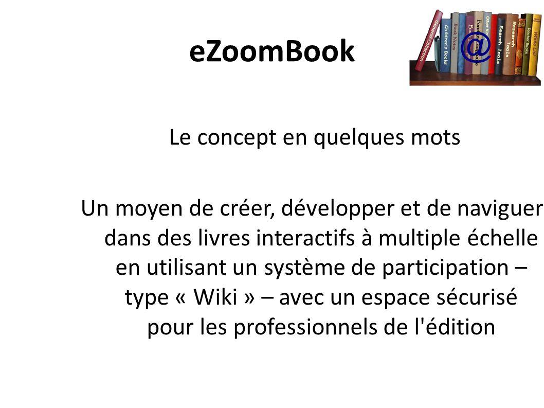 eZoomBook A quoi ressemble un eZoomBook.