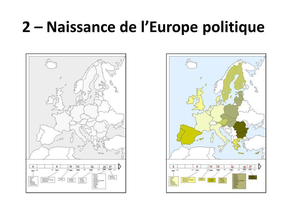 2 – Naissance de lEurope politique