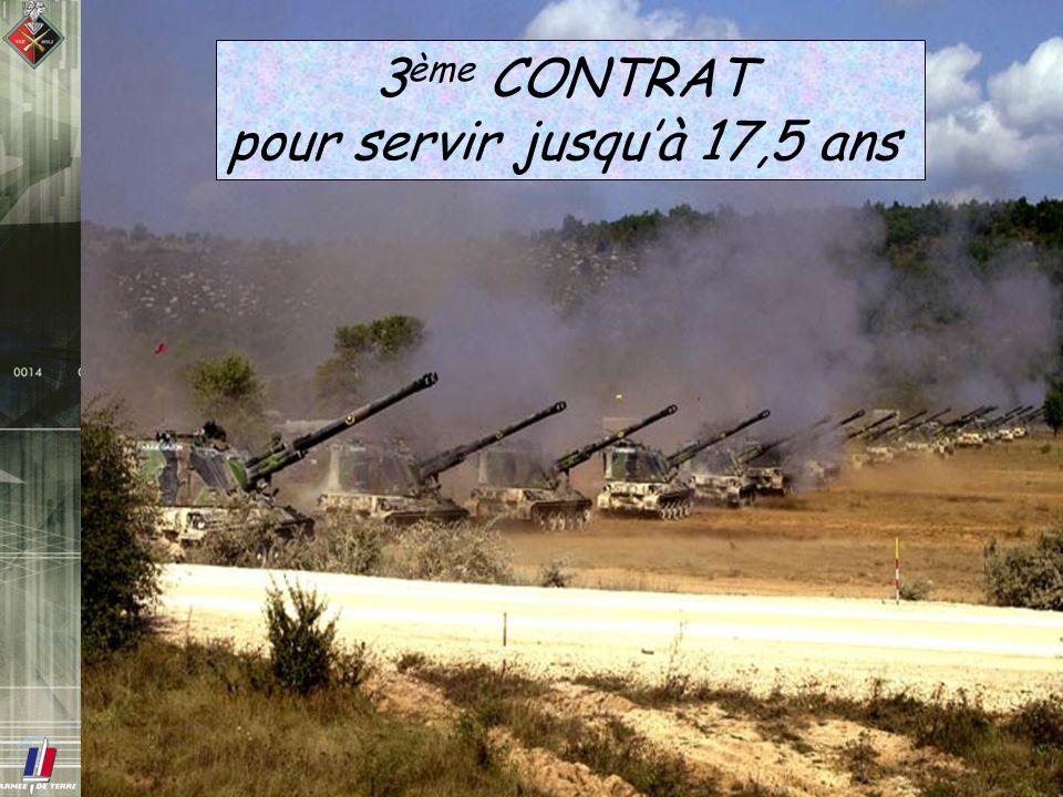 3 ème CONTRAT pour servir jusquà 17,5 ans