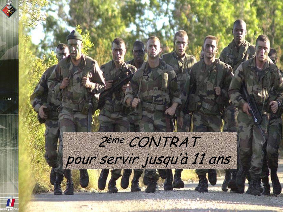 2 ème CONTRAT pour servir jusquà 11 ans